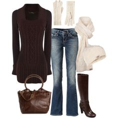 Casual Fall/Winter, created by masilly1 on Polyvore