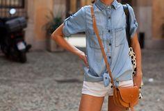 outfit inspiration. denim.