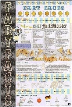Fart Facts 24x36 Art Poster Print Mantis Design, Inc. http://www.amazon.com/dp/B00H89QZ6Y/ref=cm_sw_r_pi_dp_scEswb17BK61G