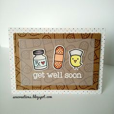 Sou Creations : Get well soon (Lawn Fawn)