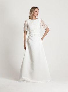 Bridal collection via katriniskanen.com Finnish design by Katri Niskanen Bridal Collection, One Shoulder Wedding Dress, Wedding Dresses, Clothes, Design, Fashion, Bride Dresses, Outfits, Moda