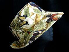 Sunhat Summer Hat Reversible Fabric Hat Headwear by WJcrafts, $35.00