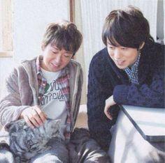 Satoshi×Sho with cat♪
