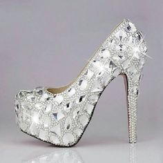 So we know you like bling rings... what about bling shoes?