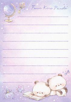 Memo Notepad, Motifs Perler, Cute Notebooks, Cute Stationery, Cute Cartoon Wallpapers, Note Paper, Writing Paper, Bullet Journal Inspiration, Printable Paper