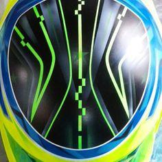 b1e64ffbdf6d5 CA Design Jose Columna karting DR paint work done next names and clear coat  .