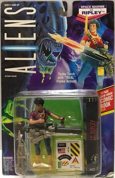 Ripley This item is NOT in Mint Condition and is in no way being described as Mint or even Near Mint. Our toys have not always lead the perfect life Retro Toys, Vintage Toys, Alien Action Figures, Horror Merch, Aliens Colonial Marines, Dark Comics, Alien Vs Predator, Childhood Days, Space Marine