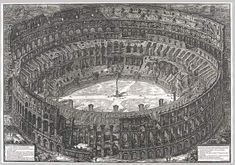 Piranesi, 1776, View of te Colosseum