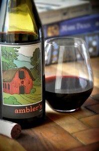 Earth Fare's new wine, Ambler's, created by the Biltmore Estate.