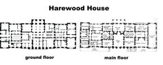 Harewood House.  --  ground & 1st floor.  (NOTE: click on image for larger version.)