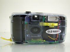 Rare Novelty Promo, Old Navy Logo, See-Through Toy 35mm Film Camera  - SOLD - Other items up for sale here! http://www.ebay.com/sch/pealfaro/m.html?_nkw=&_armrs=1&_from=&_ipg=&_trksid=p3686