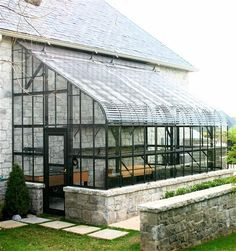 Southern Greenhouse lean to. Southern Greenhouse lean to. Best Greenhouse, Greenhouse Growing, Greenhouse Plans, Greenhouse Wedding, Greenhouse Gardening, Outdoor Spaces, Indoor Outdoor, 3d Templates, Plant Watering System