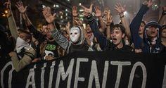 Manifestação em São Paulo termina com 51 detidos pela PM