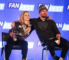 Emily and Stephen at HVFF