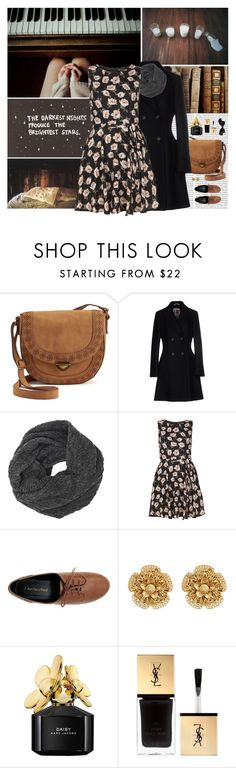 """The Darkest Nights Produce The Brightest Stars..."" by allweknowisfalling ❤ liked on Polyvore featuring Zephyr, Oris, SONOMA Goods for Life, I'm Isola Marras, Lost & Found, Mela Loves London, Miriam Haskell, Marc Jacobs, Yves Saint Laurent and Chanel"