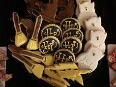 Undergraduate Baking: Harry Potter Desert Table