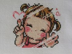 Soda - Bordados Embroidery Art, Cross Stitch Embroidery, Cross Stitch Patterns, Kids Patterns, Color Patterns, Diy And Crafts, Arts And Crafts, Cross Stitch Baby, Cross Stitching