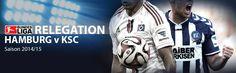 Noch tickt die Uhr des #Bundesliga Dinos... Heute Abend, um 20:30 Uhr, findet das erste Relegationsspiel zwischen dem Hamburger SV und dem Karlsruher SC statt.  Der Karlsruher Trainer Markus Kauczinski gibt sich kämpferisch und will die Ära des Bundesliga Dinos beenden. Der Aufstieg käme Karlsruhe gerade gelegen, denn die mit über 80 Millionen geplante neue Arena soll bis 2019 fertiggestellt sein. Alle Informationen zum Spiel auf MeinOnlineWettanbieter.com