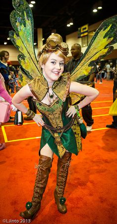 Steampunk Tinkerbell at Megacon 2013 | photo by LJinto