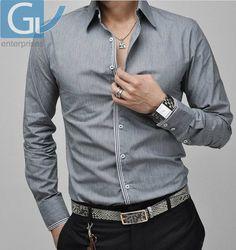Our Mega Gris De Men's On Designer Camisa Latest Branded Hombreropa Fabulous Fashion Wears Store PcP0zy4
