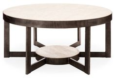 """Mill Valley 44"""" Cocktail Table, Gray"""