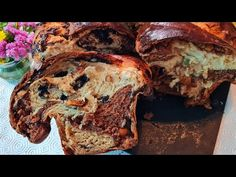 Cozonac. Cu Secret Dumnezeiesc. Cozonaci numiți de 9 ori Tatăl Nostru.. - YouTube Banana Bread, Youtube, Desserts, Food, Tailgate Desserts, Deserts, Essen, Postres, Dessert
