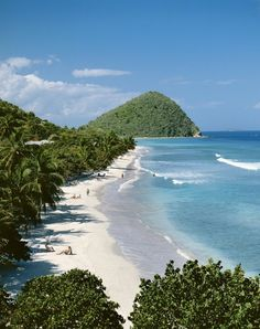 Tortola, British Virgin Islands. We have been there a few times- it really does look exactly like this