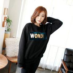 Womens Clothing Store [VANILLAMINT] Wonder Man to man / Size : FREE / Price : 33.64 USD #dailyllook #dailyfashion #fashionitem #tops #T #TEE #Tshirts #MTM #mantoman #ootd #vanillamint http://en.vanillamint.net/ http://cn.vanillamint.net/ http://jp.vanillamint.net/
