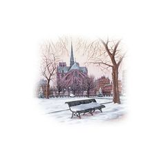 TUBES PAYSAGES ❤ liked on Polyvore featuring backgrounds, winter, christmas, tubes and paysages
