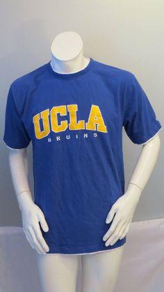UCLA Bruins Shirt (VTG) - Stitched Script Front by Colosseum - Men s Large 25f46bca01