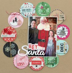 Papercrafting ideas: scrapbook layout idea. #papercraft #scrapbooking #layouts by Juniper Berry Eye Candy