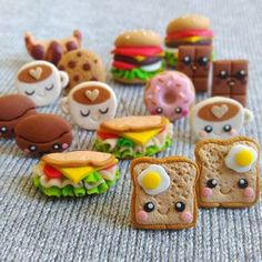 cute stuff online Kawaii mini cute food visit www. - cute stuff online Kawaii mini cute food visit www. Fimo Kawaii, Polymer Clay Kawaii, Fimo Clay, Polymer Clay Charms, Polymer Clay Creations, Polymer Clay Jewelry, Kawaii Diy, Kawaii Stuff, Diy Jewelry Unique