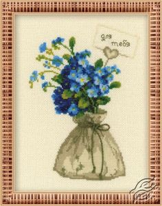 For You - Cross Stitch Kits by RIOLIS - 1096