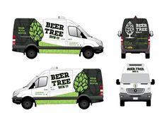 bls blssign&print blssignenprint sign print beer tree voertuigbelettering
