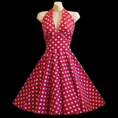 we need to find this for you! although not in red of course ;) | 1950's dresses | Pinterest | Ruha