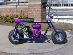old minibike choppers Custom Mini Bike, Mini Motorbike, Ktm Dirt Bikes, Bike Photoshoot, Mini Chopper, Motorised Bike, Bike Quotes, Drift Trike, Drag Bike
