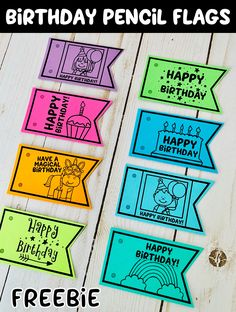 Student Gifts Discover Happy Birthday Pencil Flags Celebrate your students birthday with pencil flags! First Grade Classroom, Classroom Community, Kindergarten Classroom, School Classroom, Future Classroom, Classroom Activities, Classroom Decor, School Birthday, Happy Birthday