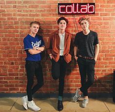 Blake Richardson, Reece Bibby, Will Simpson, New Hope Club, Club Shirts, Fine Boys, Famous Singers, Secret Love, Club Style