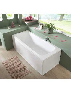 Badezimmer kaufen Komplett-Set: Rechteckwanne »Malaga«, B/T/H in cm: 170/68/60, inkl. Schürzen