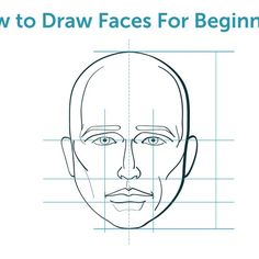 Learning to draw faces can help you create comic strip characters.