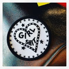 See on patch by GIRL SHIT
