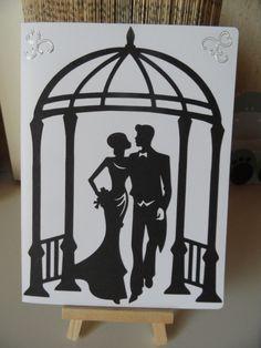 Très classe pour un mariage le noir et le blanc : Cartes par made-by-newscrapeuse