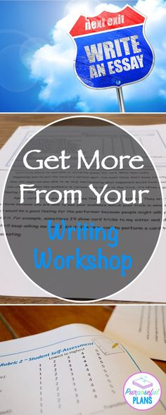 Get More From Your Writing Workshop - Purposeful Plans Writing Strategies, Writing Lessons, Writing Resources, Teaching Writing, Writing Activities, Writing Skills, Classroom Activities, Teaching Resources, Teaching Ideas