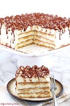 Tiramisu Recipe, Tiramisu Cake, Graham Cracker Cookies, Graham Crackers, Summer Desserts, No Bake Desserts, Easy Desserts, Cake Recipes, Dessert Recipes