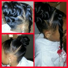 Natural Hair Care for kids | Go to www.naturalhairki... to see more tips, posts and pics like this! | natural hair | protective styles | detangling | natural hair kids | hair care tips | natural hair information | locs | natural hair inspiration | ponytails | braids | beads | caring for natural hair | natural hair tip | natural hairstyles for kids | children's hair | moisturizing hair