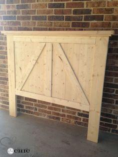 Diy headboards 621848661032450926 - DIY Barn Door Headboard – Shanty 2 Chic Source by Diy Wood Projects, Home Projects, Rustic Furniture, Diy Furniture, Refurbished Furniture, Furniture Stores, Furniture Plans, Garden Furniture, Furniture Design