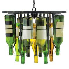 A lamp that goes with my decor and embraces my love for wine? Yes please. LOL