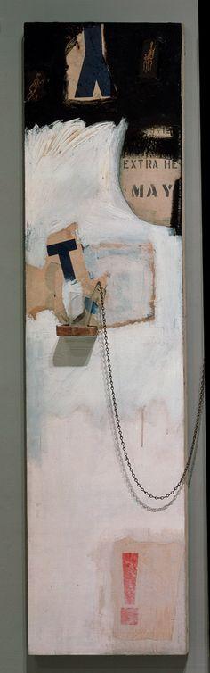 Robert Rauschenberg - Trophy II(Detail.) 1960