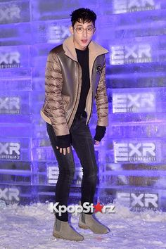 Lee Soo Hyuk at EXR 'EXCELERATE Night (BRANDNEW PROJECT)' Event