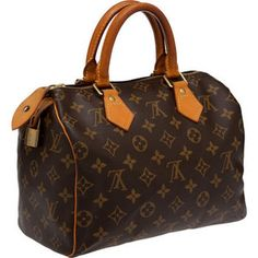 Louis Vuitton Speedy 25 Monogram bag  Like New! This bag is in excellent  condition and was only used a couple of times. It was purchased at the  Louis ... f86f2afefea7b